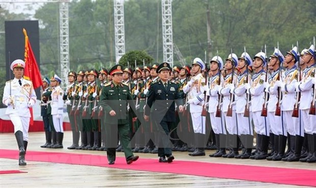 Cooperacion en defensa contribuye a estabilidad de frontera Vietnam-China hinh anh 1