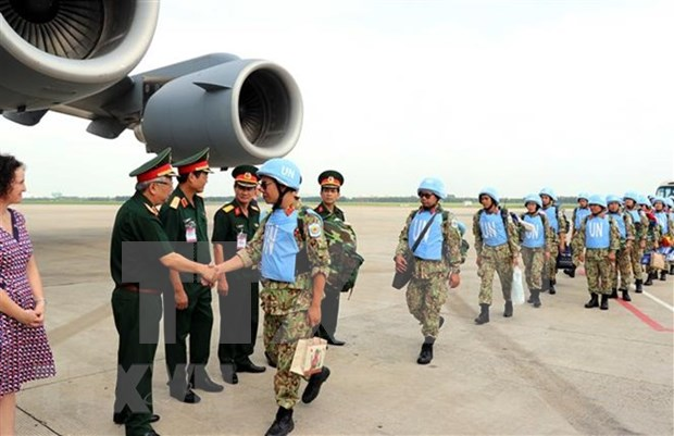 Vietnam enviara a otros dos observadores a la Mision de la ONU en Sudan del Sur hinh anh 1