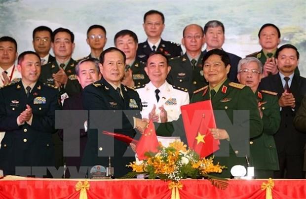 Vietnam y China revisan nexos de amistad transfronteriza hinh anh 1