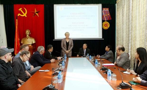 Partido aleman aprecia actividades de asociacion vietnamita de victimas del Agente Naranja hinh anh 1
