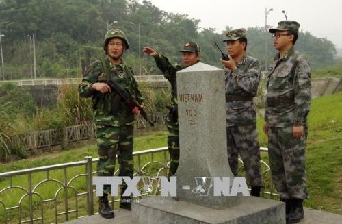 Vietnam asiste a Laos en capacitacion de guardia fronteriza hinh anh 1
