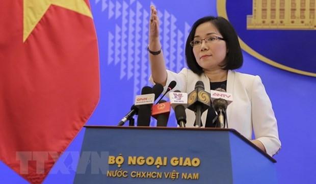 Vietnam exige a China poner fin inmediato sus actividades en Hoang Sa hinh anh 1