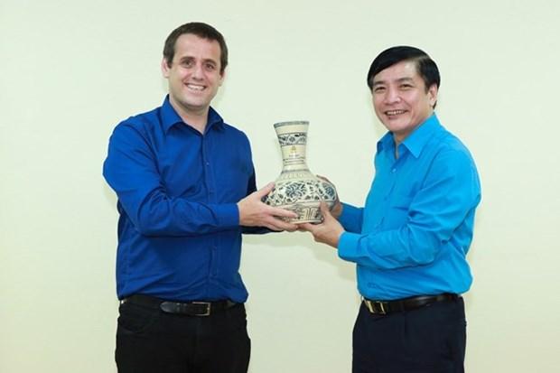 Agencias sindicales de Vietnam y Nueva Zelanda robustecen cooperacion bilateral hinh anh 1