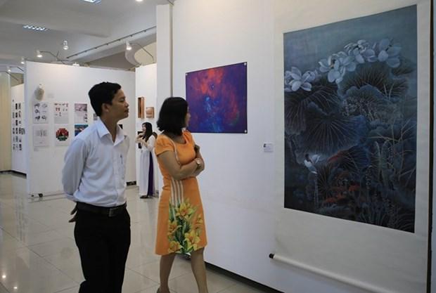 Exposicion internacional en ciudad vietnamita presenta obras artisticas de Cuenca del Pacifico hinh anh 1