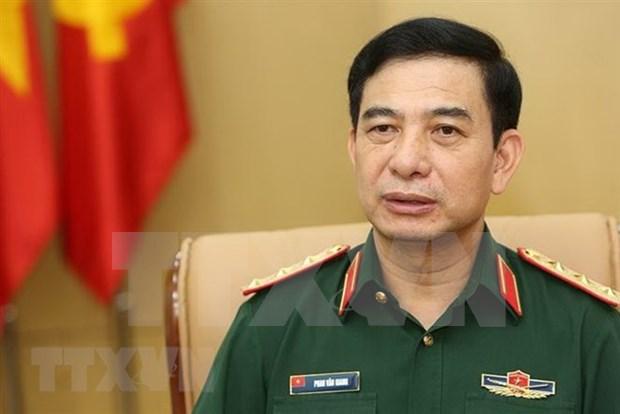 Delegacion militar de alto nivel de Vietnam inicia visita oficial a Tailandia hinh anh 1