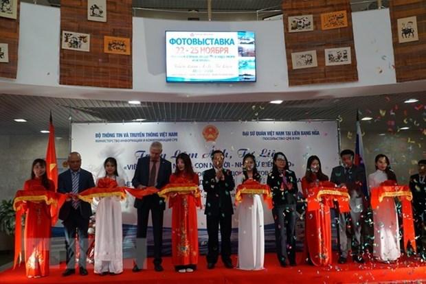 Presentan en Rusia exposicion sobre potencialidades de mares e islas de Vietnam hinh anh 1