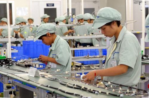 Empresa japonesa inaugura nueva fabrica en provincia vietnamita hinh anh 1
