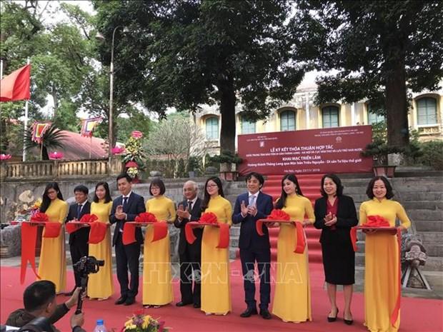 Exploran ciudadela vietnamita de Thang Long a traves de planchas xilograficas hinh anh 1