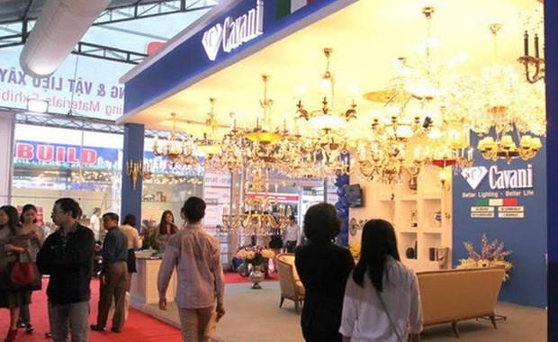 Participan 400 empresas en exhibicion del sector de la construccion en Hanoi hinh anh 1
