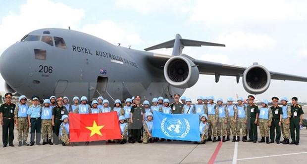Debaten respaldo a Vietnam en participacion en el manteminiento de paz de la ONU hinh anh 1