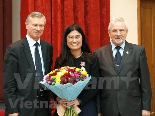 Asociacion de amistad Rusia-Vietnam promueve relacion y cooperacion binacional hinh anh 1