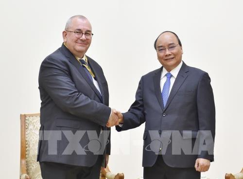 Vietnam expresa deseo de recibir apoyo de Belgica en firma de EVFTA hinh anh 1