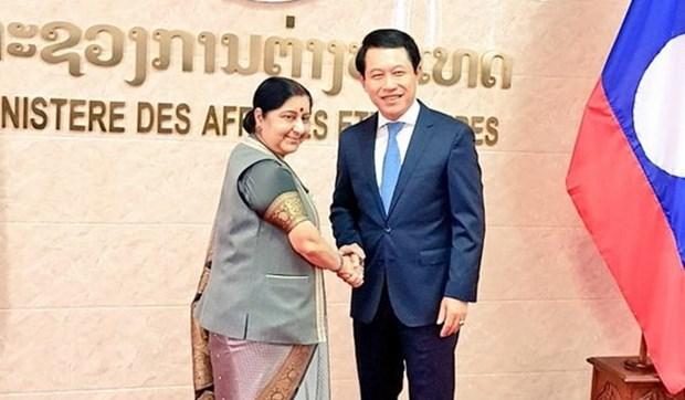 Laos y la India trazan itinerario para la futura colaboracion multisectorial hinh anh 1