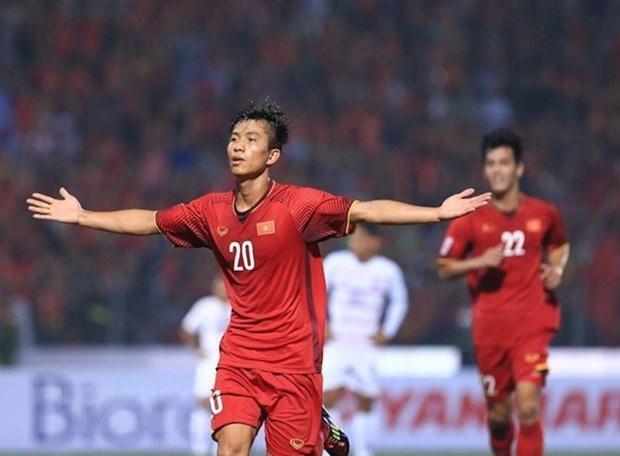 Vietnam clasifica a semifinal del Campeonato del Sudeste Asiatico de Futbol 2018 hinh anh 1