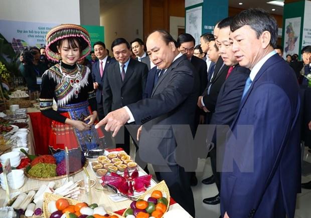 Premier pide a provincia norvietnamita de Cao Bang priorizar el desarrollo socioeconomico local hinh anh 1