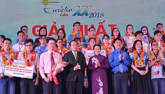 Celebran en Vietnam premiacion de Programa Estudiantes Investigadores de la Ciencia Eureka 2018 hinh anh 1