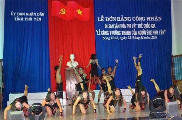 Rito de paso de adolescencia a adultez de etnia Ede reconocido Patrimonio inmaterial nacional hinh anh 1