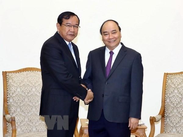 Vietnam y Camboya robustecen relaciones de vecindad y amistad hinh anh 1