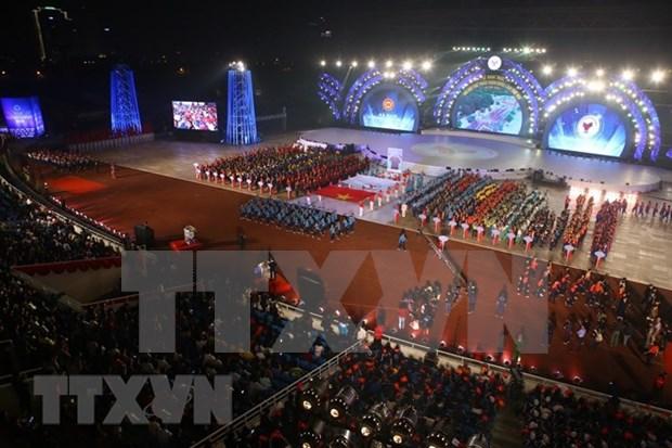 Inauguran en Hanoi los VIII Juegos Nacionales de Vietnam hinh anh 1