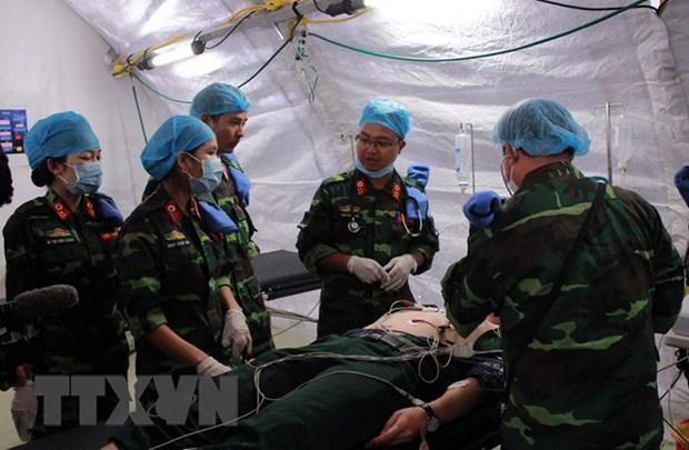 Inician en Vietnam curso de capacitacion de cirugia para segundo hospital de campana hinh anh 1
