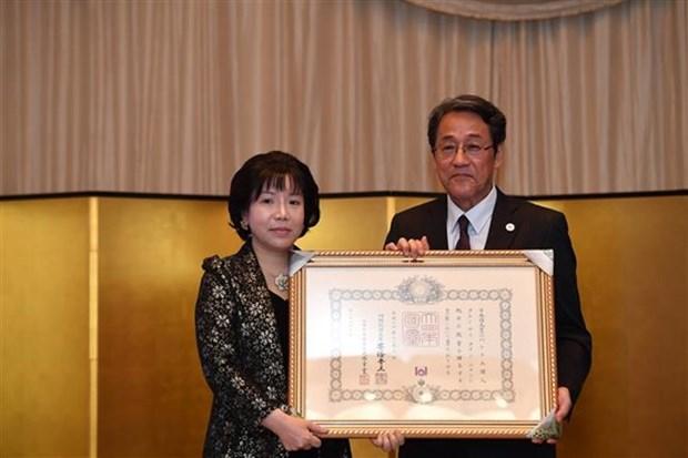 Japon concede Orden del Sol Naciente a investigadora vietnamita hinh anh 1