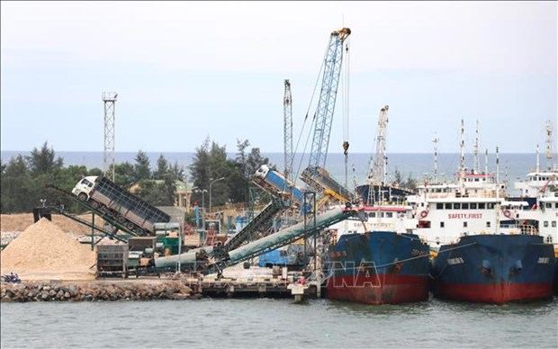 Sigue en alza volumen de carga de los puertos maritimos de Vietnam hinh anh 1