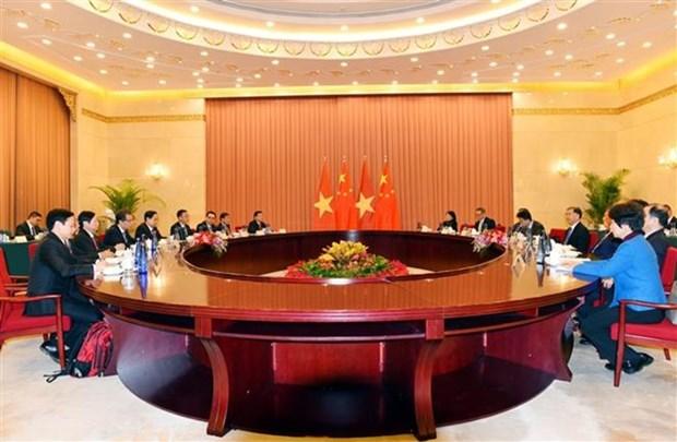 Vietnam prioriza relaciones con China, sostiene dirigente del Frente de la Patria hinh anh 1