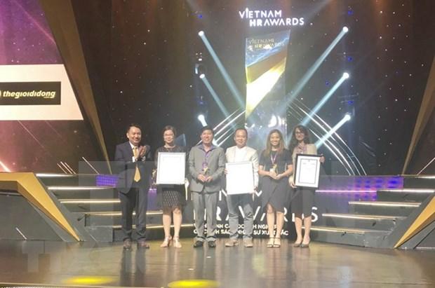 Honran a 12 empresas vietnamitas con Premio de Recursos Humanos hinh anh 1