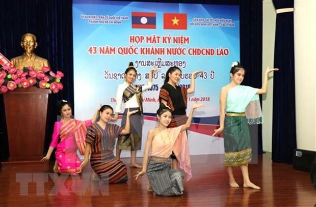 Conmemoran en Vietnam aniversario 43 del Dia Nacional de Laos hinh anh 1