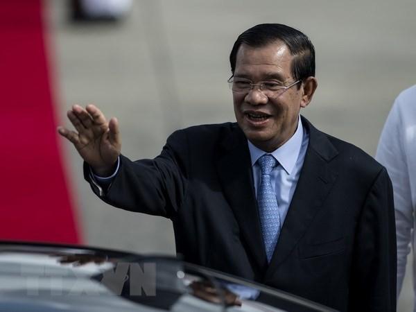 Primer ministro de Camboya visitara Vietnam proximo mes hinh anh 1