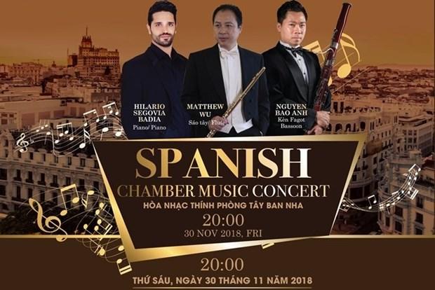 Celebraran manana en Ciudad Ho Chi Minh concierto de musica clasica espanola hinh anh 1