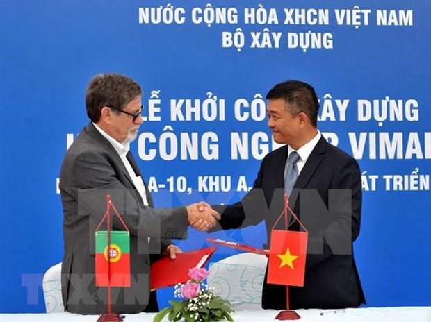 Inician construccion de parque industrial vietnamita en Zona de Desarollo Mariel en Cuba hinh anh 2