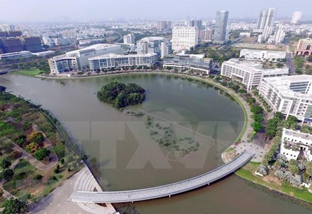 Ciudad Ho Chi Minh desarrollara cuatro centros clave para construccion de urbe inteligente hinh anh 1