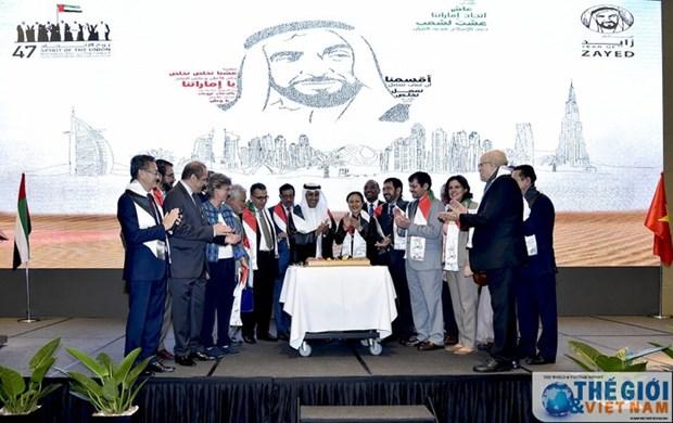 Celebran en Hanoi aniversario 47 del Dia Nacional de UAE hinh anh 1