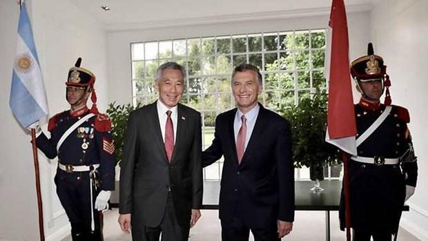 Singapur y Argentina se comprometen a impulsar intercambio comercial binacional hinh anh 1