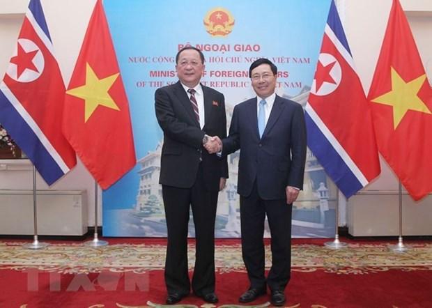 Vietnam y Corea del Norte robustecen nexos bilaterales hinh anh 1
