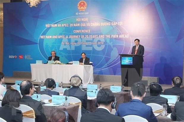 Vietnam revisa contribucion al APEC e identifica vision para futuro hinh anh 1
