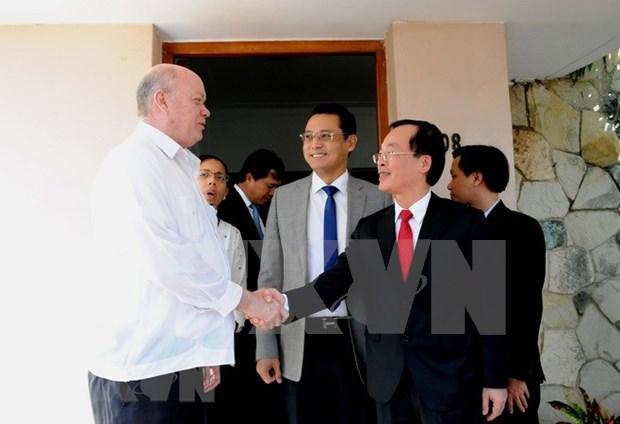 Destacan voluntad de diversificar cooperacion economica Vietnam – Cuba hinh anh 1