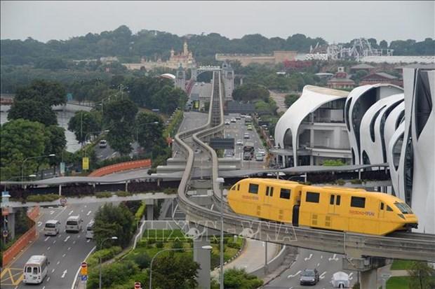 Aplicaran en Singapur servicio experimental de autobus bajo peticion hinh anh 1