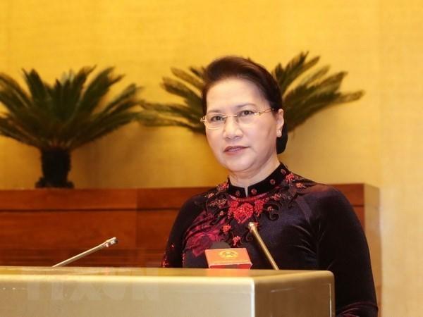 Presidenta de la Asamblea Nacional de Vietnam visita Corea del Sur hinh anh 1