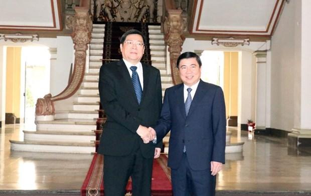 Ciudad Ho Chi Minh robustece colaboracion con provincia china de Hunan hinh anh 1
