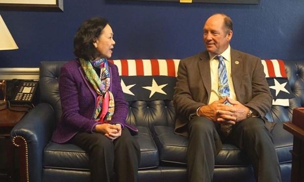 Delegacion del Partido Comunista de Vietnam concluye visita a Estados Unidos hinh anh 1