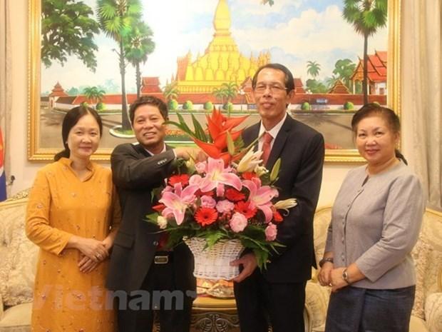 Embajada de Vietnam en Malasia felicita a Laos por su Dia Nacional hinh anh 1