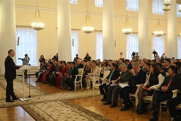 Inician en San Petersburgo preparativos del Ano Vietnam-Rusia 2019 hinh anh 1