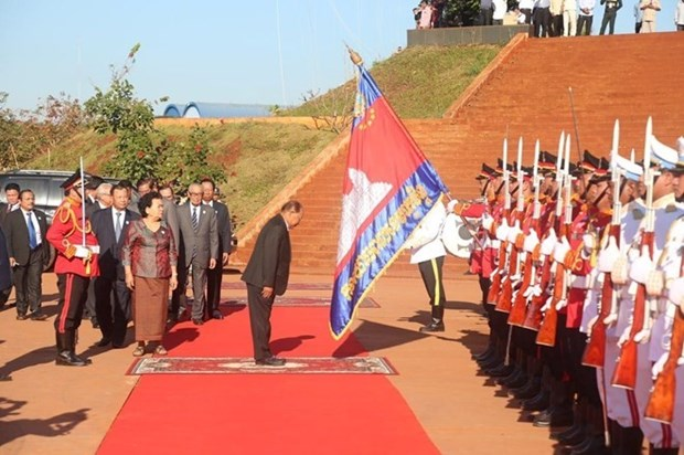 Camboya conmemora aniversario del Frente de Solidaridad para Desarrollo de Patria hinh anh 1