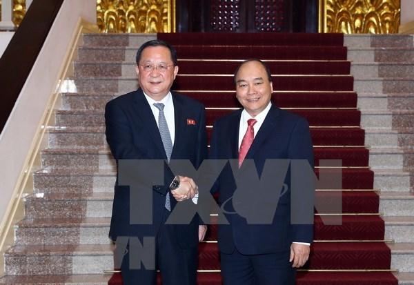 Vietnam dispuesto a cooperar con Corea del Norte por intereses de ambos pueblos hinh anh 1