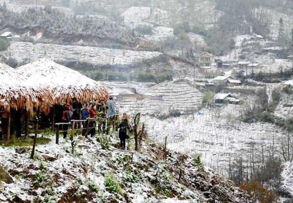 Se esperan miles de visitantes al Festival de invierno Sa Pa, en desarrollo en Vietnam hinh anh 1