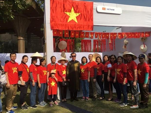 Productos tradicionales vietnamitas atraen atencion en feria caritativa en la India hinh anh 1
