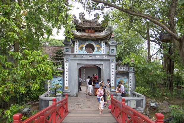 Hanoi entre los destinos favoritos para turistas surcoreanos hinh anh 1