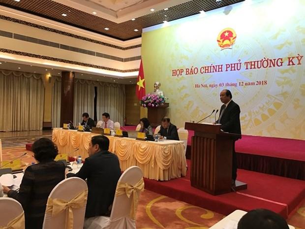 Asuntos de gran interes publico se aclaran en rueda de prensa gubernamental de Vietnam hinh anh 1
